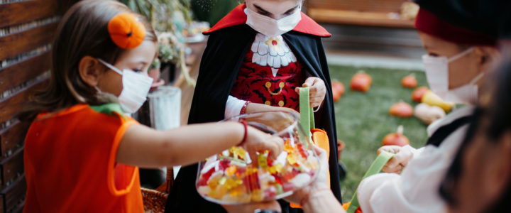 Prep for Halloween 2021 in Austin at Century South